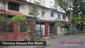 100 Terrace House In Singapore For Rent At Hillcrest Road
