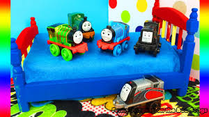 Thomas The Tank Engine Toddler Bed by Thomas And Friends Five Little Trains Jumping On The Bed Nursery