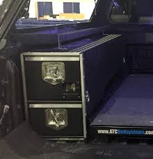 Wheel Well Storage Box Drawer For Trucks | Tool Box, Gun Box