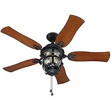 Allen Roth Ceiling Fan Reverse by Allen Roth Castine 52 In Rubbed Bronze Downrod Or Close Mount