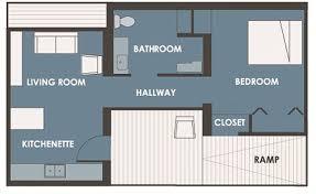 Modern Style House Plan 1 Beds 1 00 Baths 538 Sq Ft Plan 507 1