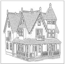 Doll House Coloring Pages