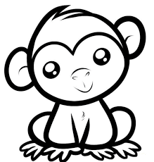Full Size Of Coloring Pagetrendy Monkey Easy To Draw Page Fancy