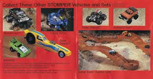 100 Stomper Toy Trucks Review McDonalds Happy Meal Mini 44 Dodge Rampage Blue
