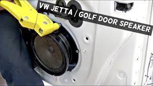 VW JETTA GOLF MK5 DOOR SPEAKER REMOVAL AND REPLACEMENT - YouTube