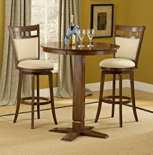 Jefferson/Dynamic Designs Pub Table Set In Brown Cherry Finish