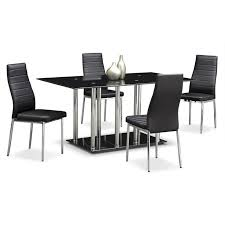 Value City Furniture Kitchen Table Chairs by Artfully Industrial The Modern Stratus Dining Collection Is