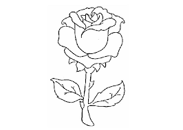 Printable Rose Colouring Pages Color Roses To Click On Image