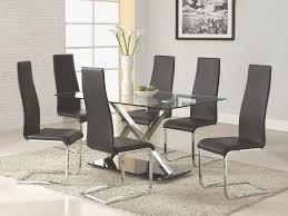 Modern Dining Rooms Sets Luxury Interior Endearing Black Room 5