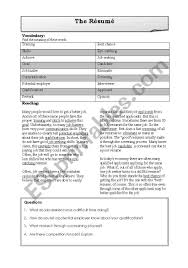 Resume - ESL Worksheet By Mkyllo Resume Builder Worksheet Resume Worksheet Volumetrics Co Spreadsheet Bacampjonkopingse Builder Sazakmouldingsco Template To Fill In Inspirational The 98 Printable High 9 Examples In Pdf Printable And High School Free Bulder Build 57 How Write Blank Word For Simple Step Writing Activity Free Esl Worksheets Best 29 Worksheets Yyjiazhengcom Practice Archives Professional Example