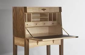 bureau designer writing bureau in walnut maple makers eye