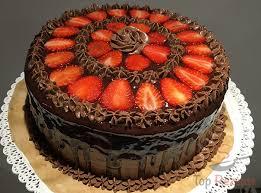 schokoladen erdbeer torte