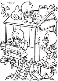 Donald Duck Online Colouring Pages To Print Halloween Coloring