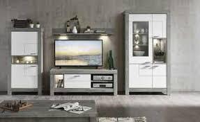moderne wohnwände für das wohnzimmer bei höffner