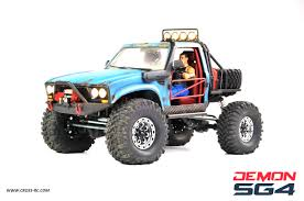 100 Speed Demon Trucks CrossRC SG4C Crawler Kit W Hard Body 110 Scale 4x4 Version C