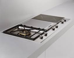 Dual gas and electric hob