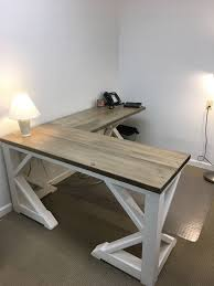 Best Rustic Farmhouse Desk Made To Order For Sale