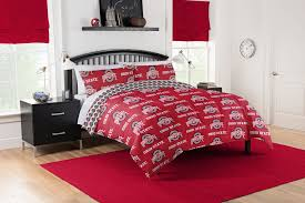 NCAA Ohio State Buckeyes Bed In A Bag Set Hardwood Rocking Chair Ohio State Jumbo Slat Black Ncaa University Game Room Combo 3 Piece Pub Table Set The Best Made In Amish Chairs For Rawlings Buckeyes 3piece Tailgate Kit Products Smarter Faster Revolution Axios Shower Curtain 1 Each Michigan Spartans Trademark Global Logo 30 Padded Bar Stool