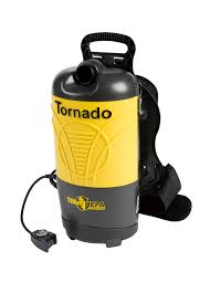 Tornado Floor Scrubber Machine by Quality Chemical Company Vacuums Backpack