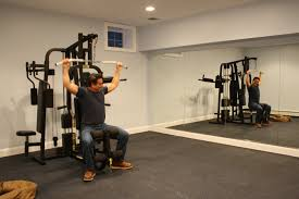 Creative Design Home Gym Flooring Ideas Stylish Basement How To Simple