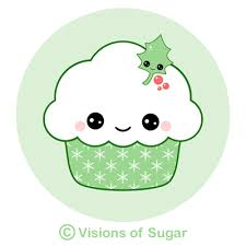 cute cupcake clipart with faces 10