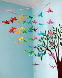 Pin Paper Cranes Mobile