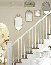 stairwell with mirrors htourss0507 de entrée maison escalier