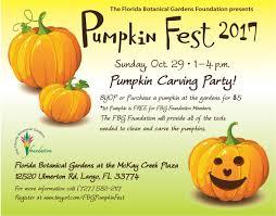 Sarasota Pumpkin Festival Location by Pinellas County Florida Botanical Gardens