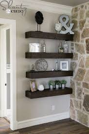 DIY Floating Shelves For My Living Room How To Decorate