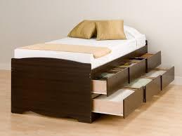 Malm High Bed Frame by Tall Bed Frame Image Of Unvarnished Tall Platform Bed Frame