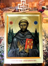 icon of st francis of assisi jim forest flickr