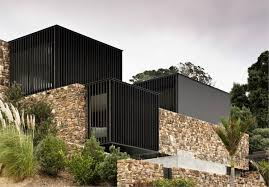100 Patterson Architects Waiheke Island Rock House By Andrew In New