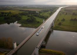 100 Magdeburg Water Bridge Cities From Above