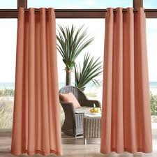 Outdoor Curtain Rods Kohls by Buy Patio Curtain From Bed Bath U0026 Beyond