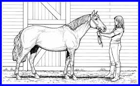 Compromise Western Horse Coloring Pages Shocking Realistic Online Printable For