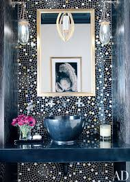 Beautiful Colors For Bathroom Walls by Bold Color Bath Design Bold Colors And Mosaics