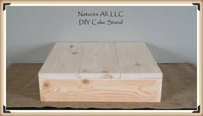 16 DIY Rustic Wedding Cake Stand Country