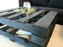 Coffee Tables Made Out Of Pallets Table Magnificent End