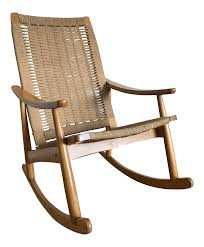Vintage Mid Century Modern Hans Wagner Style Rocking Chair In Woven ... Woven Rope Midcentury Modern Rocking Chair And Ottoman At 1stdibs Polywood Presidential Rocker With Seat Back Classic Outdoor Wicker Off The A Brief History Of One Americas Favorite Chairs Cracker Barrel Spring Haven Brown Allweather Patio Polywood Jefferson Recycled Plastic Cushions Accsories White Veranda Balcony Deck Porch Pool Beach Allen Roth Belsay Dark Steel Tortuga Portside Wickercom Solid Wood Fntiure