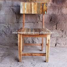 vintage recycle altholz esszimmer stuhl alte holz farbe