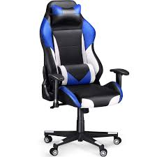 SLYPNOS Gaming Chair Racing Chair, Ergonomic High Back Computer Chair,  Executive Office Chair Recliner Desk Chair With Lumbar Support Headrest ...