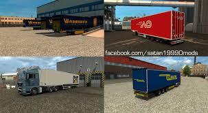 TRAILER MOD PACK V3.9   ETS2 Mods   Euro Truck Simulator 2 Mods ...