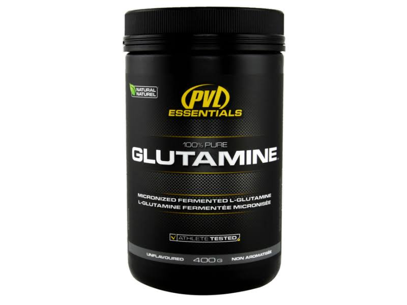 PVL Essentials 100% Pure Glutamine 400 G Orange Nutrition
