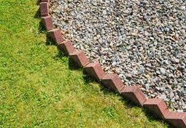 brick flower bed edging ideas