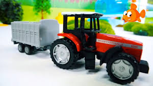 100 Toy Grain Trucks Farm TAYO TRUCK FIXERS Tractors For Kids Cars