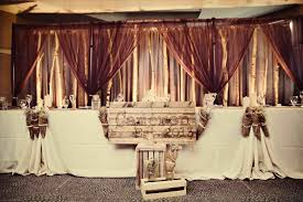 New Rustic Wedding Party Table Ideas Backdrops Country Chic Collection Decor Bliss In Diy