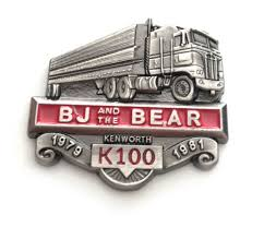 100 Bj And The Bear Truck BJ And K100 Kenworth KW Cabover Hat Pin Semi