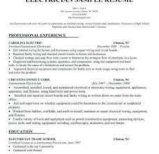 Cv For Apprenticeship Electrical Apprentice Resume Sample Electrician Examples Impression More Keyhome