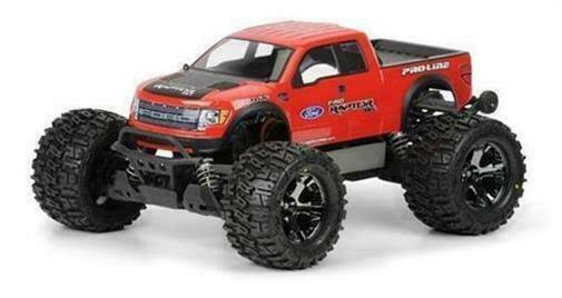 Pro-Line Ford F-150 SVT Raptor Clear Body Stampede