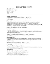 Dietary Aide Resume Samples Thevillas Co Rh Manager Sample Assistant